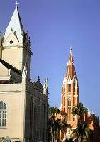 Igrejas Católica e Evangélica - Taquara