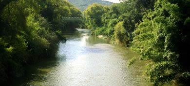 Vista do Rio Paranhana em Igrejinha